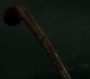 Drewniana maczuga wojenna