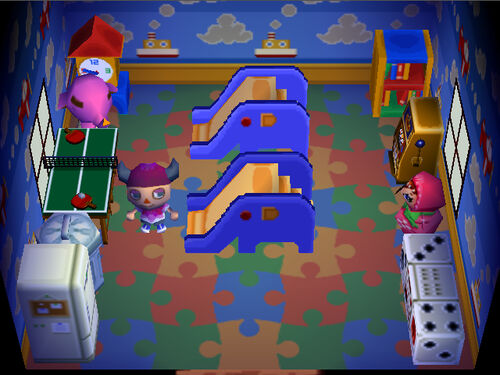 Paolo animal crossing wiki wikia for Extension maison animal crossing wild world