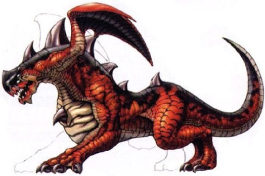 The fiends of final fantasy x called drakes are the dragon race of the