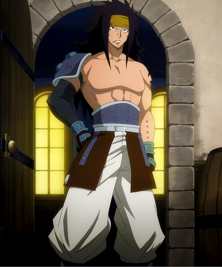 Shaman King: Steckbrief  Gajeel_coming_back_from_graveyard