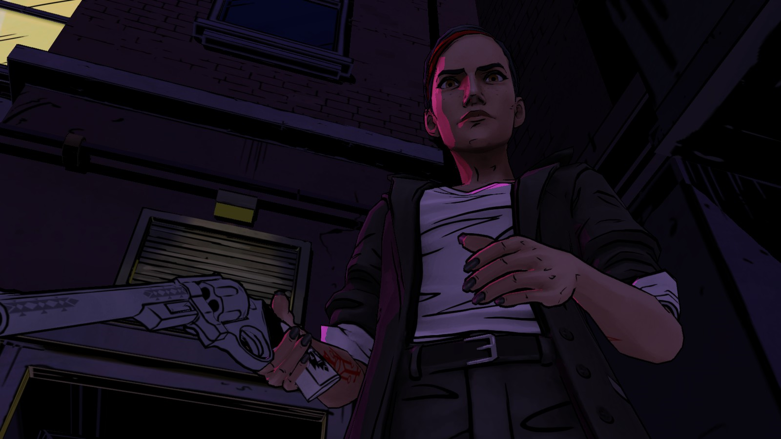 how to change resolution on the wolf among us