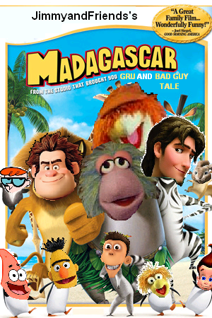 madagascar jimmyandfriends style at scratchpad the