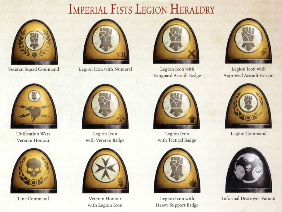 imperial fists logo - photo #26