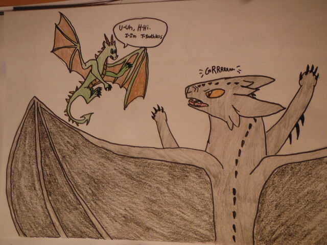 how to train your dragon toothless dragon type
