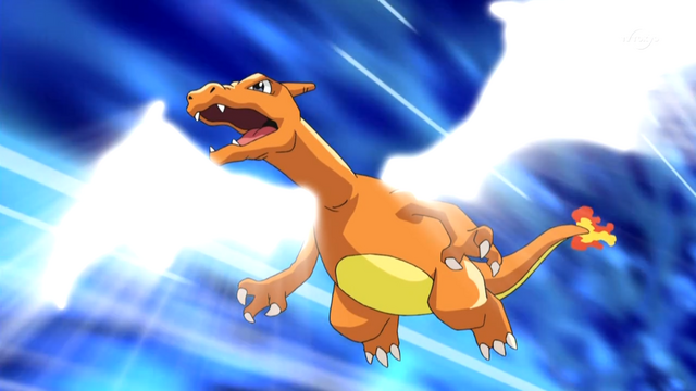 What level is Ash's Charizard - answers.com