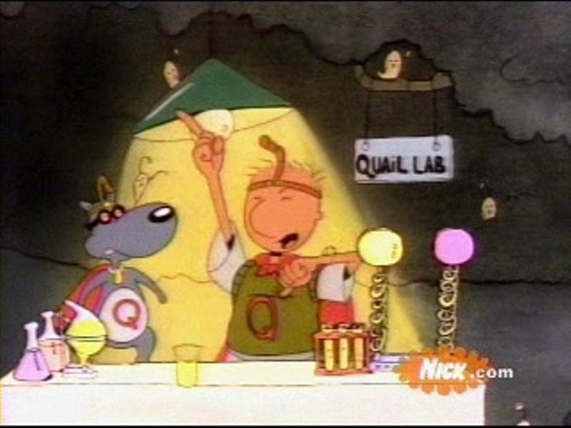 Doug is Quailman - NickelodeonDoug Wiki Quailman Doug