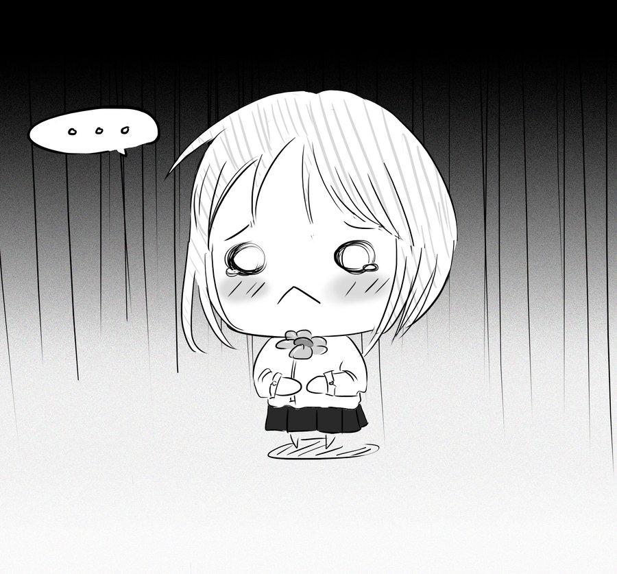 Cute Anime Chibi Girl Sad Chibi Anime Sad Boy Sad Chibi