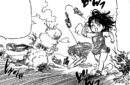 Diane and King playing tag.png