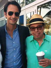 Rodrigo Santoro, Sergio Mendes, Rio 2 press junket