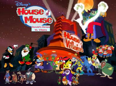 House Of Mouse Donald S Heroes Vs Villains Disney Fan