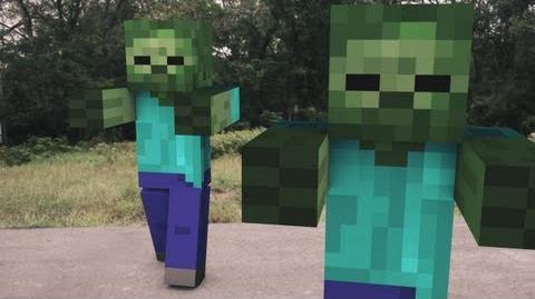Minecraft Zombie Attack