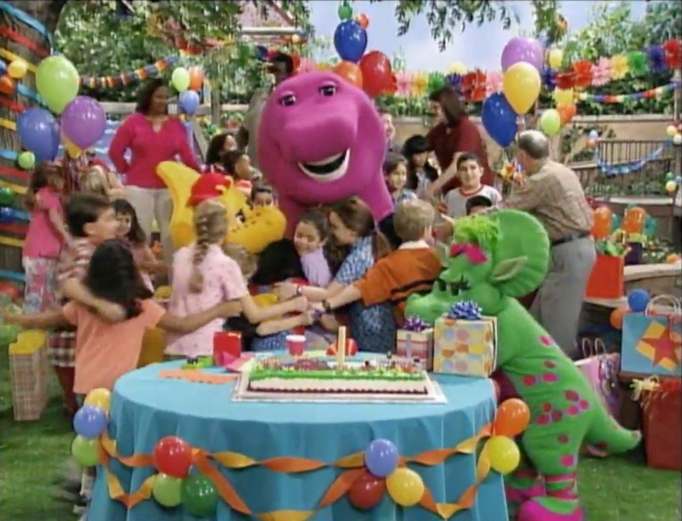It S Your Birthday Barney Barney Wiki