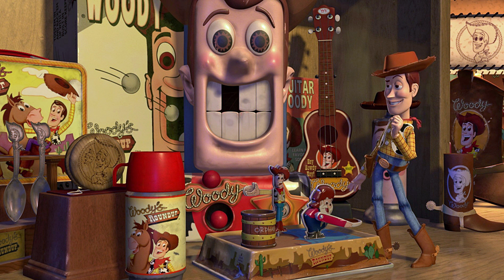 "Merchandise for ""Woody's Roundup"""