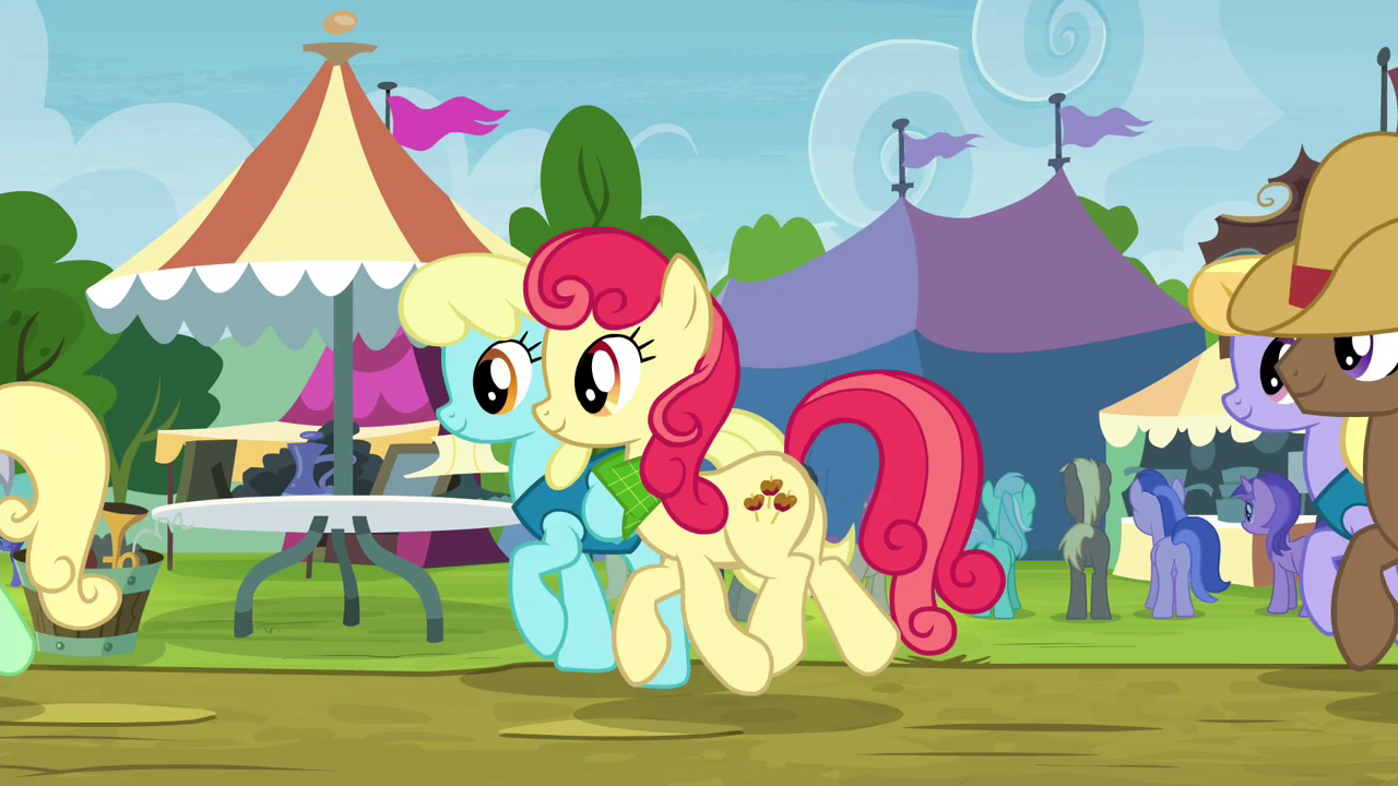 Image - Line of ponies moving along S4E22.png - My Little ...