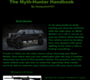 The Myth-Hunter Handbook