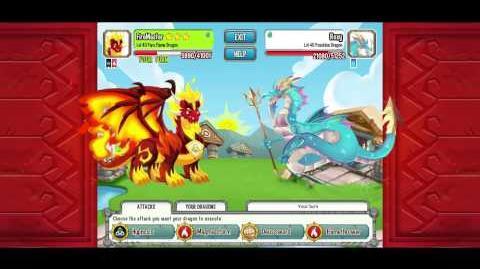 Dragon city How to defeat posejdon dragon