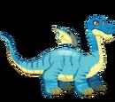Dragón Brontosaurio