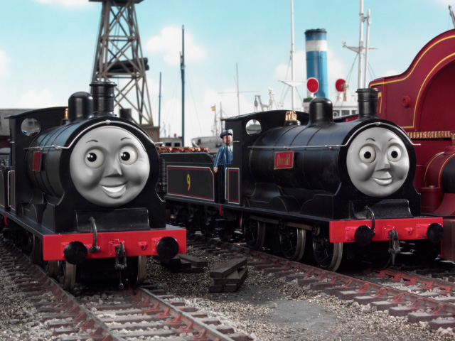 Thomas The Tank Engine Donald And Douglas