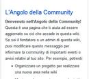 Angolo della Community