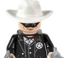 The Lone Ranger minifigure