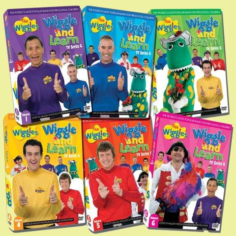 DVD Menu Walkthrough - 1x01 - The Wiggles - Wiggle And ...
