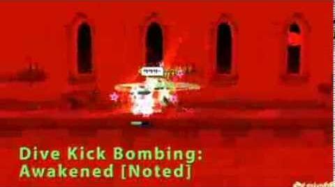 Elsword Dive Kick Bombing - Skill Note