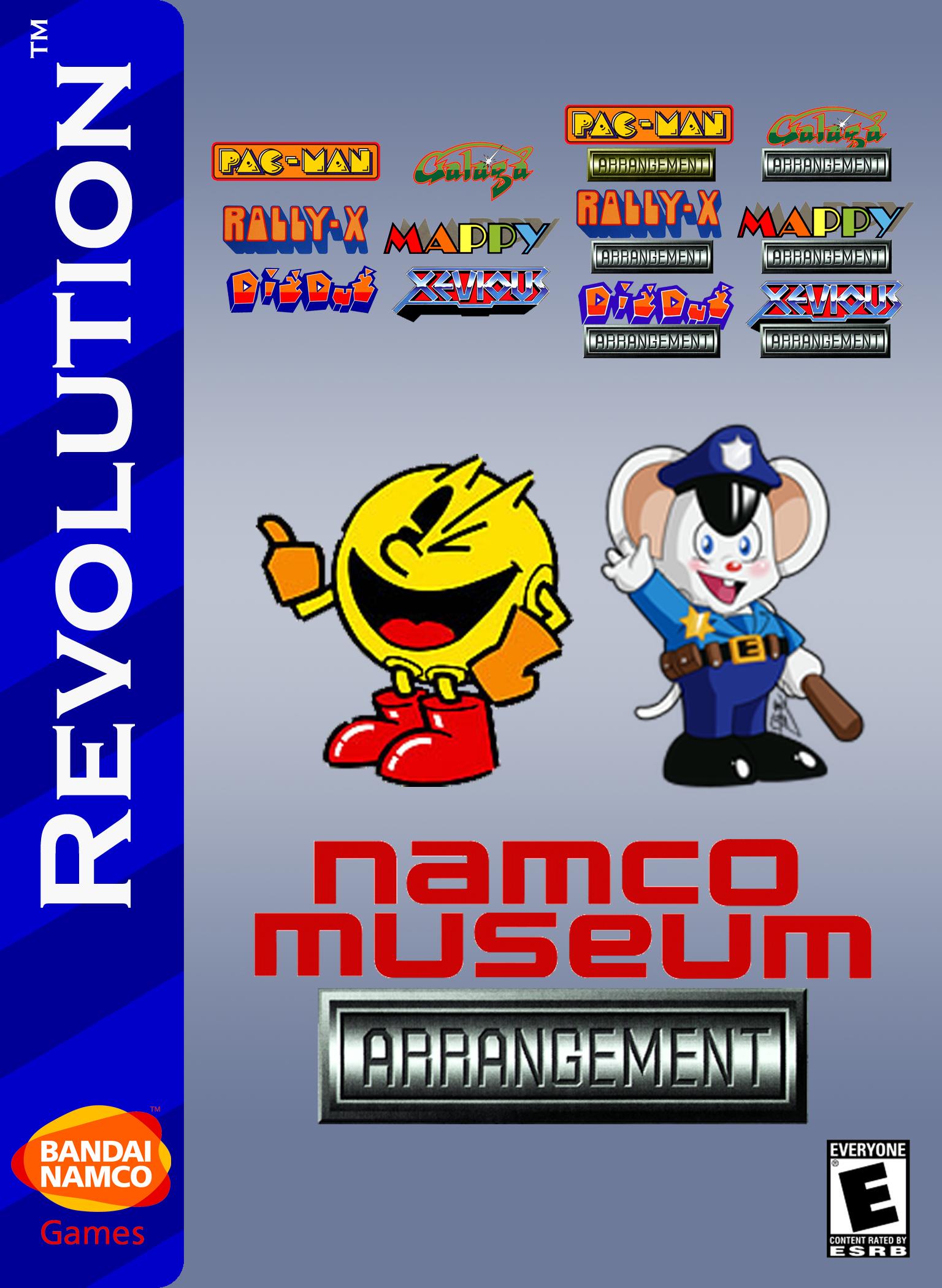 Namco Museum Arrangement Video Games Fanon Wiki