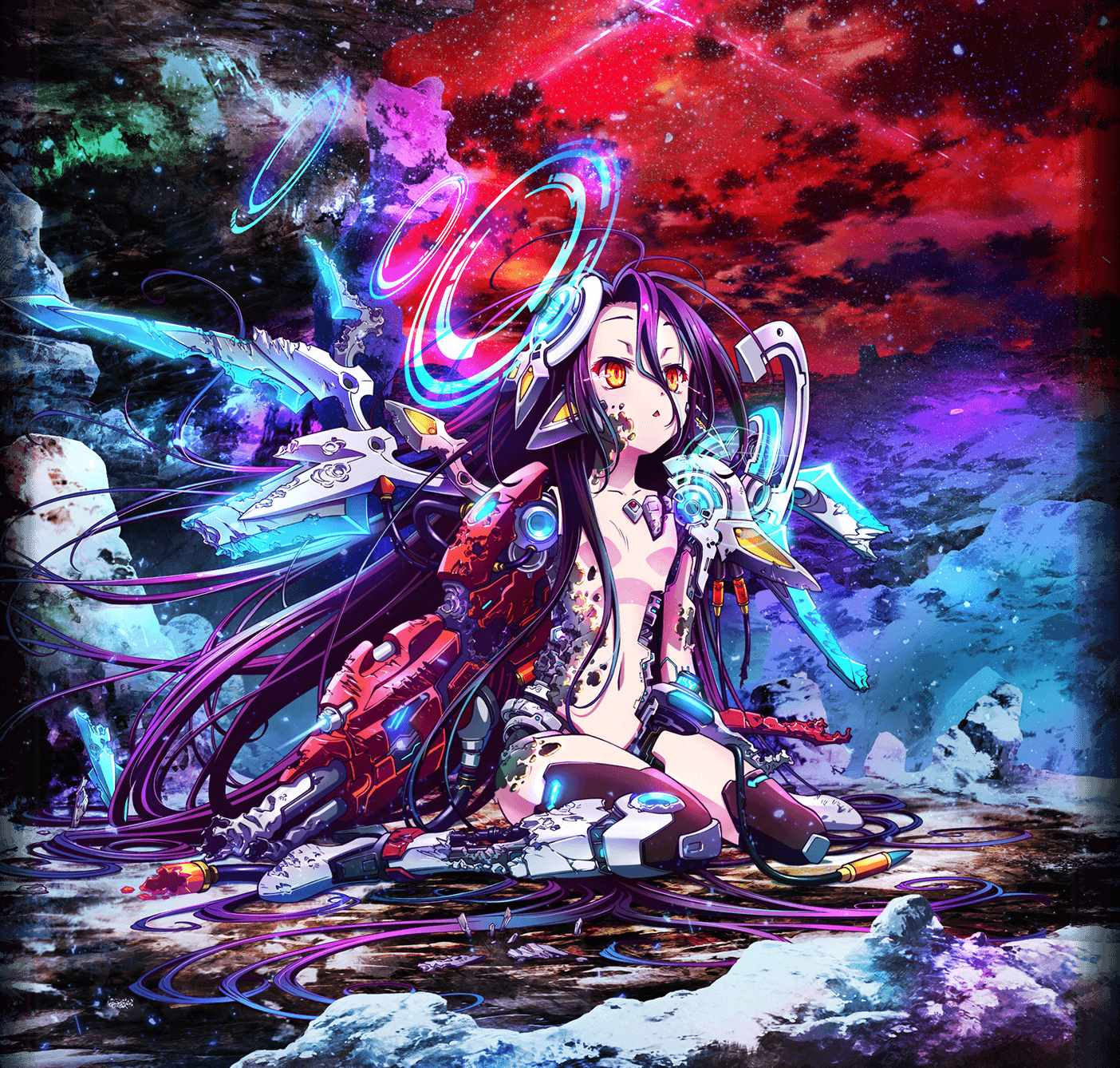 No Game No Life anime review movie poster