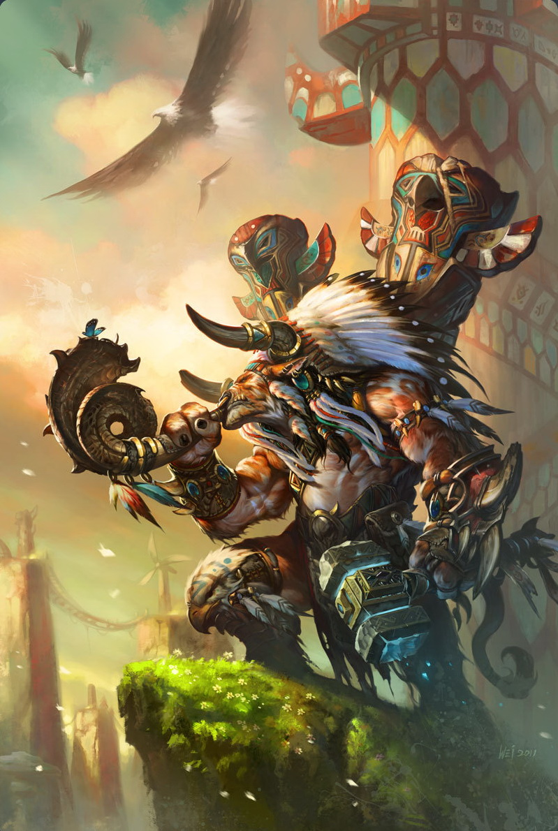 Baine bloodhoof wowwiki your guide to the world of - World of warcraft images ...