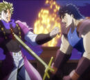 Fire and Ice, Jonathan and Dio (story arc)