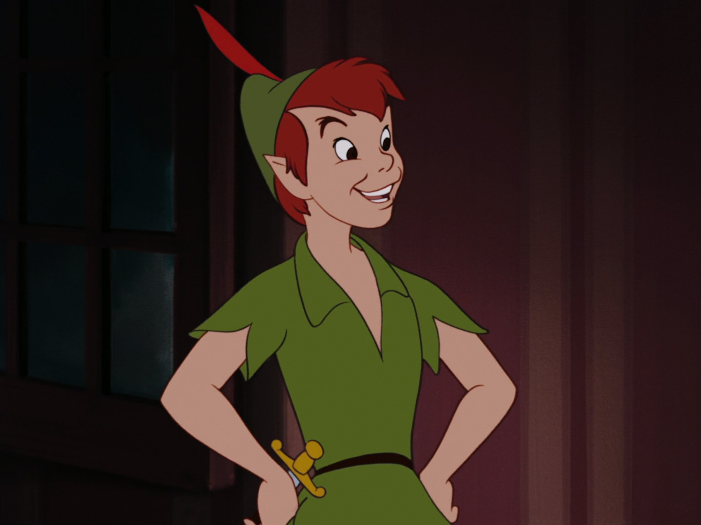 It is a graphic of Lucrative Peter Pan Picture