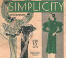 Simplicity Holiday Fashions December 1933
