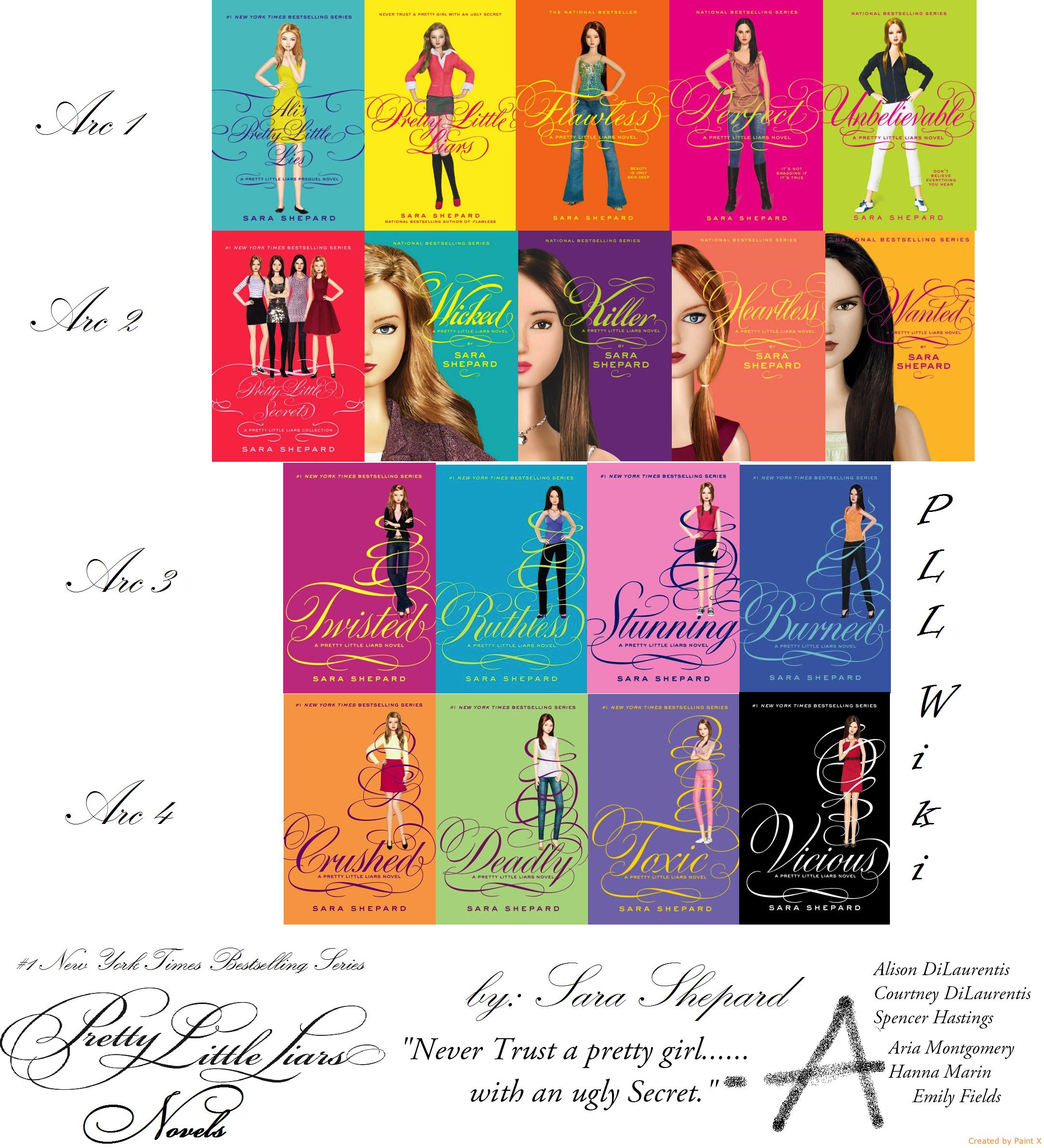 Pretty Book Cover Names : Pretty little liars book series wiki