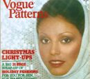 Vogue Patterns November/December 1974