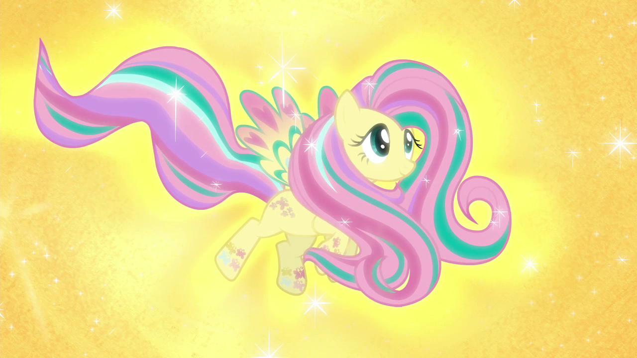 Fluttershy's Rainbow Power form S4E26