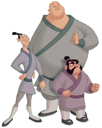 Yao, Ling and Chien Po - Heroes Wiki  Yao, Ling and C...