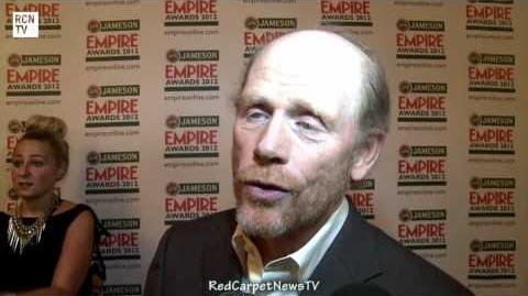 Ron Howard Interview - Arrested Development Movie News - Empire Awards 2012