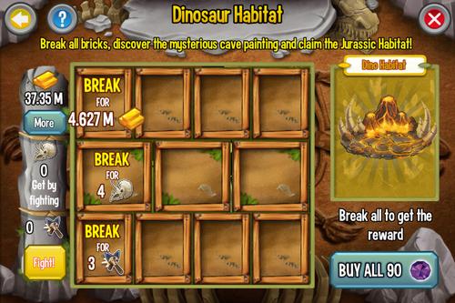 新版】IOS版活動「Dinosaur Island」集中置頂討論串@Dragon City