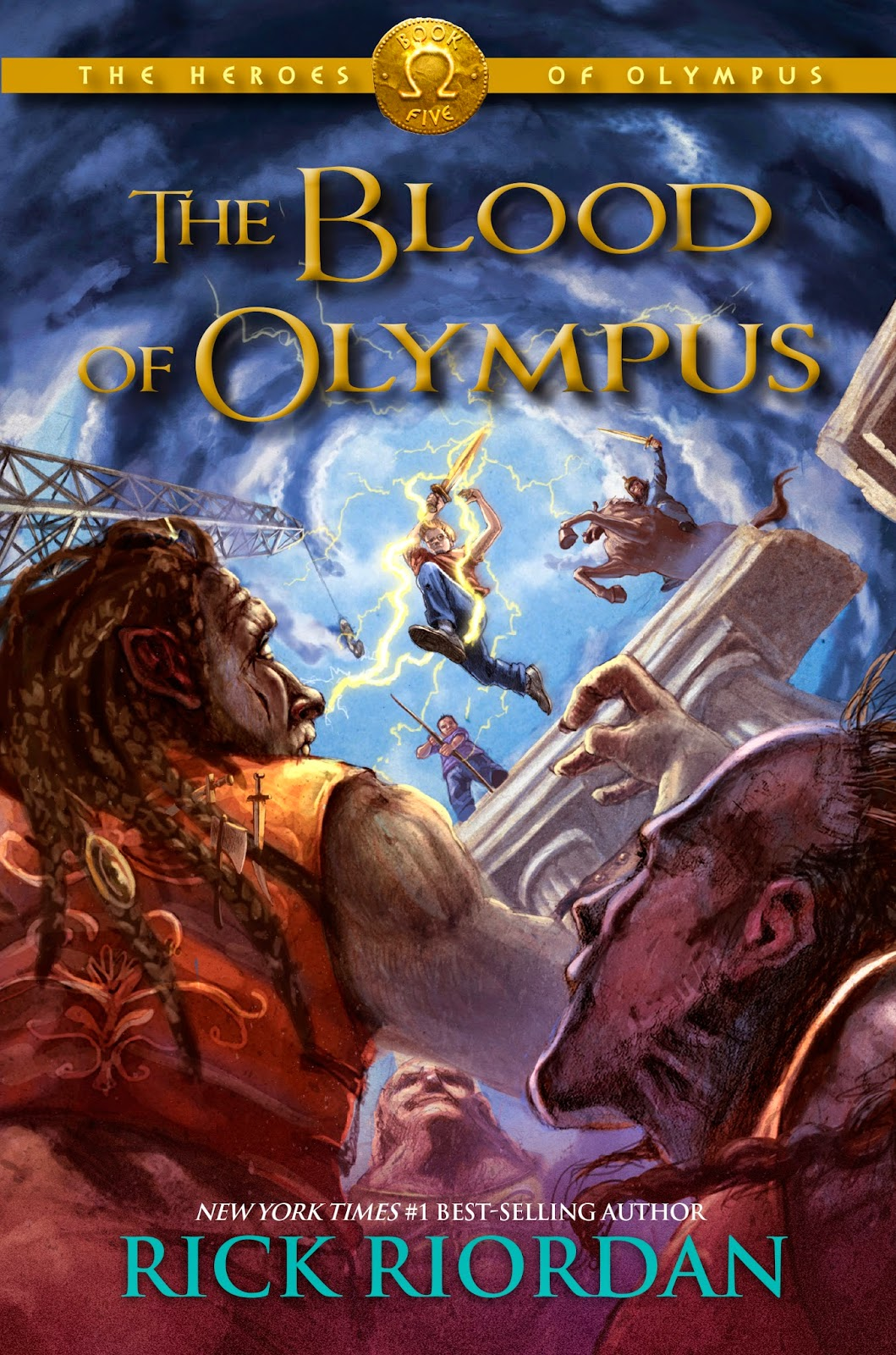 The Blood of Olympus book cover