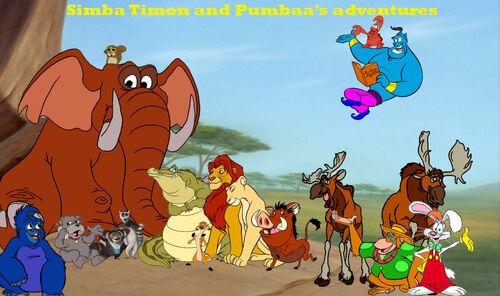 Simba Timon And Pumbaa S Adventures Series The Parody Wiki
