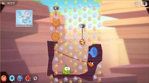 Android - Cut The Rope 2 Level 27-33 Omnom