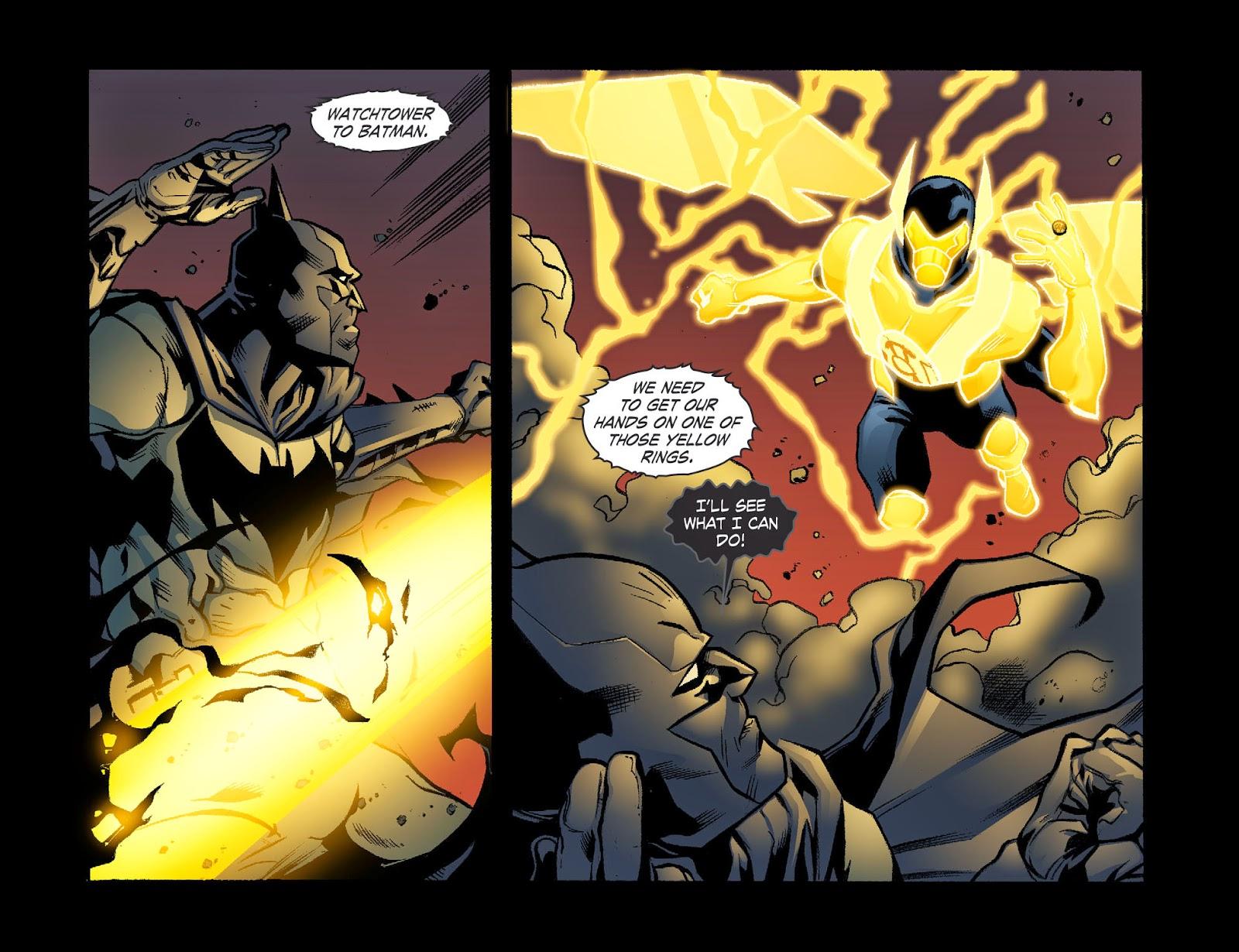 Yellow Lantern Batman Arkham City Yellow Lantern Batman