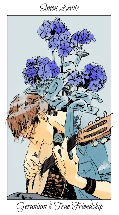 Shadowhunters Flower Cards: The Mortal Instruments – TopatoCo |Mortal Instruments Cards
