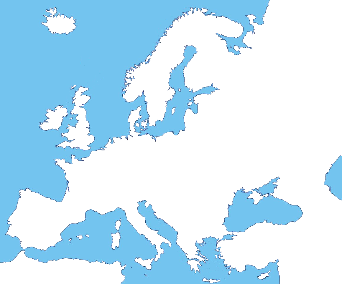 Picture of: Blank Map Of Europe No Borders Maping Resources