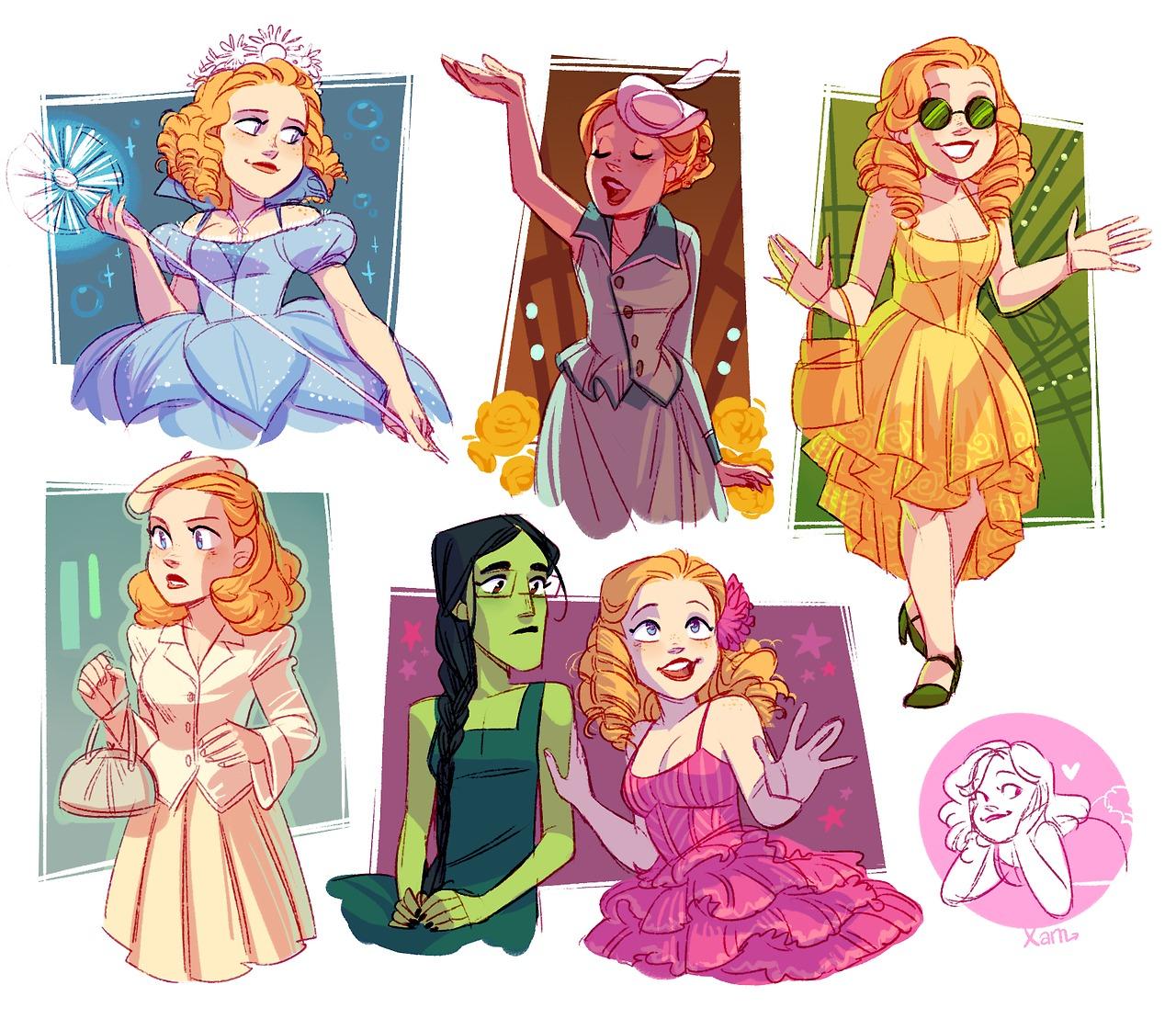 Miss Gertrude McFuzz by peterpuffin on DeviantArt |Seussical Fan Art