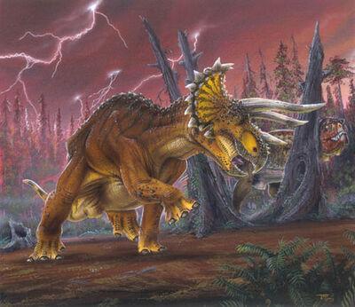 Динозавры символы штатов сша