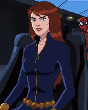 Ultimate Spider Man Black Widow Black Widow - Ultimate...