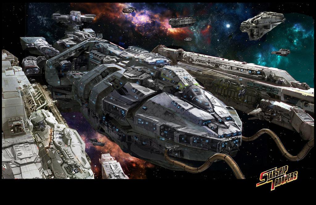 Image - Starship troopers by uncannyknack-d6fwvfk.jpg - Starship ...