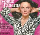 Vogue Patterns September/October 1976