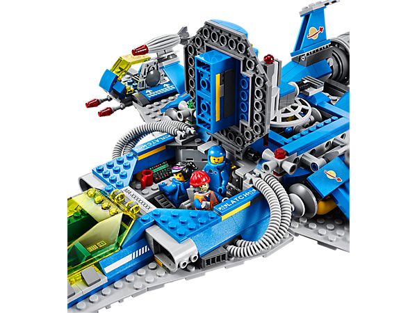 image 70816 le vaisseau spatial de benny wiki lego. Black Bedroom Furniture Sets. Home Design Ideas